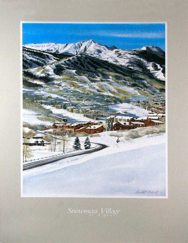 Image of Snowmass Village CO poster
