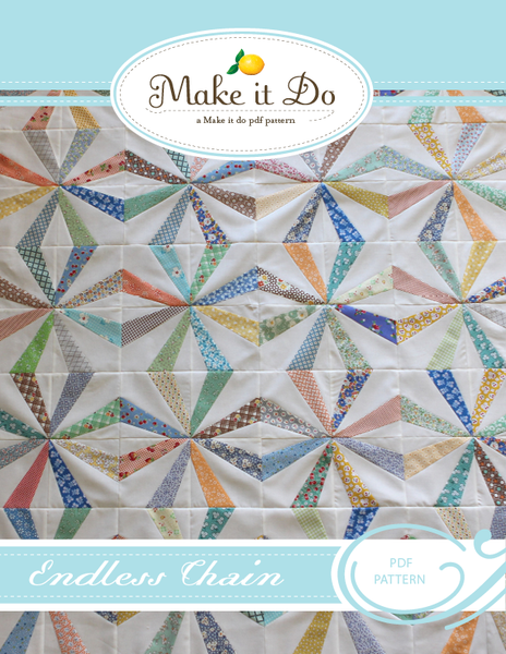 Image of Endless Chain PDF Quilt Pattern
