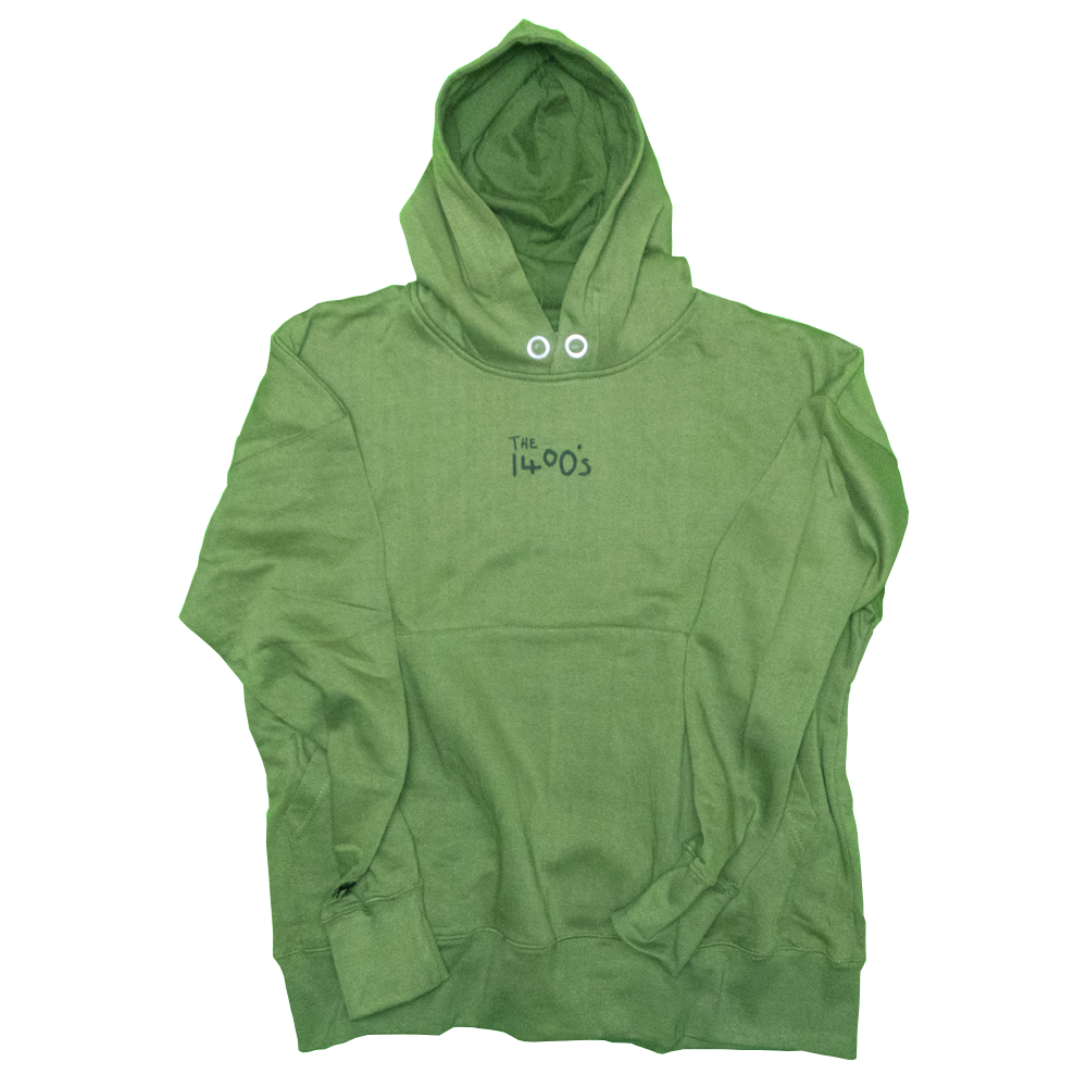 Image of [OBD] 1400'S KHAKI HOODIE - LIMITED EDITION