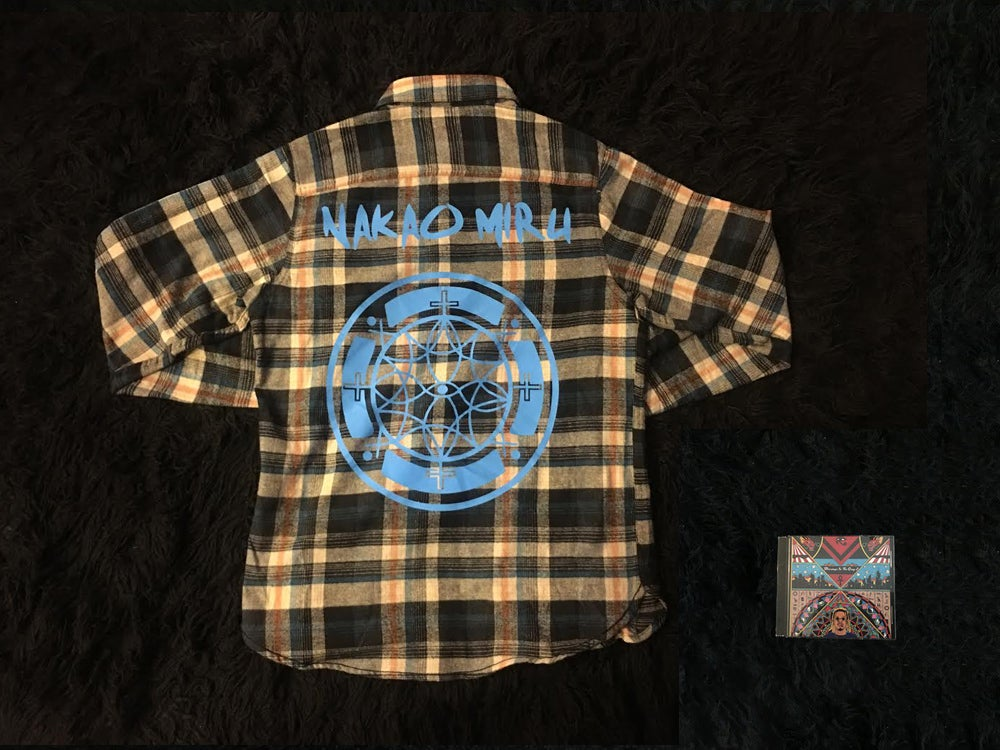 Image of Nakaomiru Blue Sky Buttondown + Signed BITG2 CD