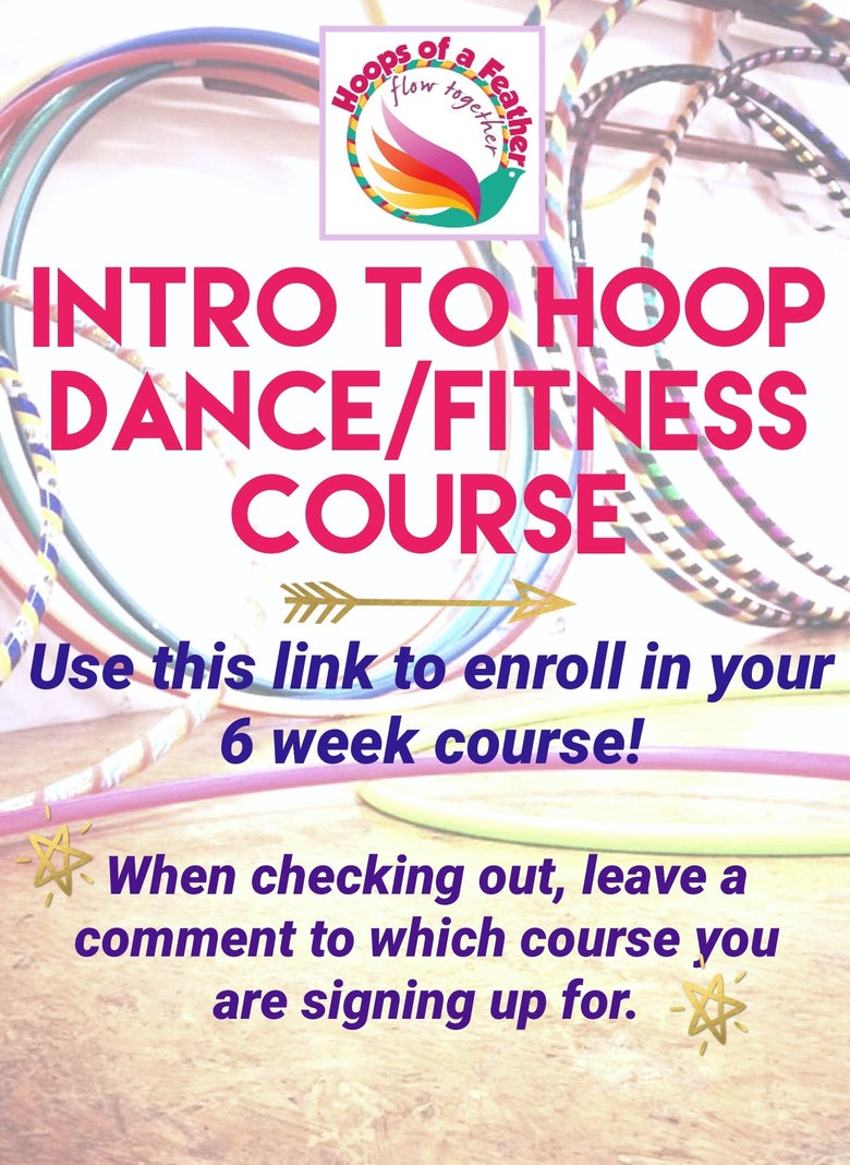 Image of Intro to Hoop Dance/Fitness Courses
