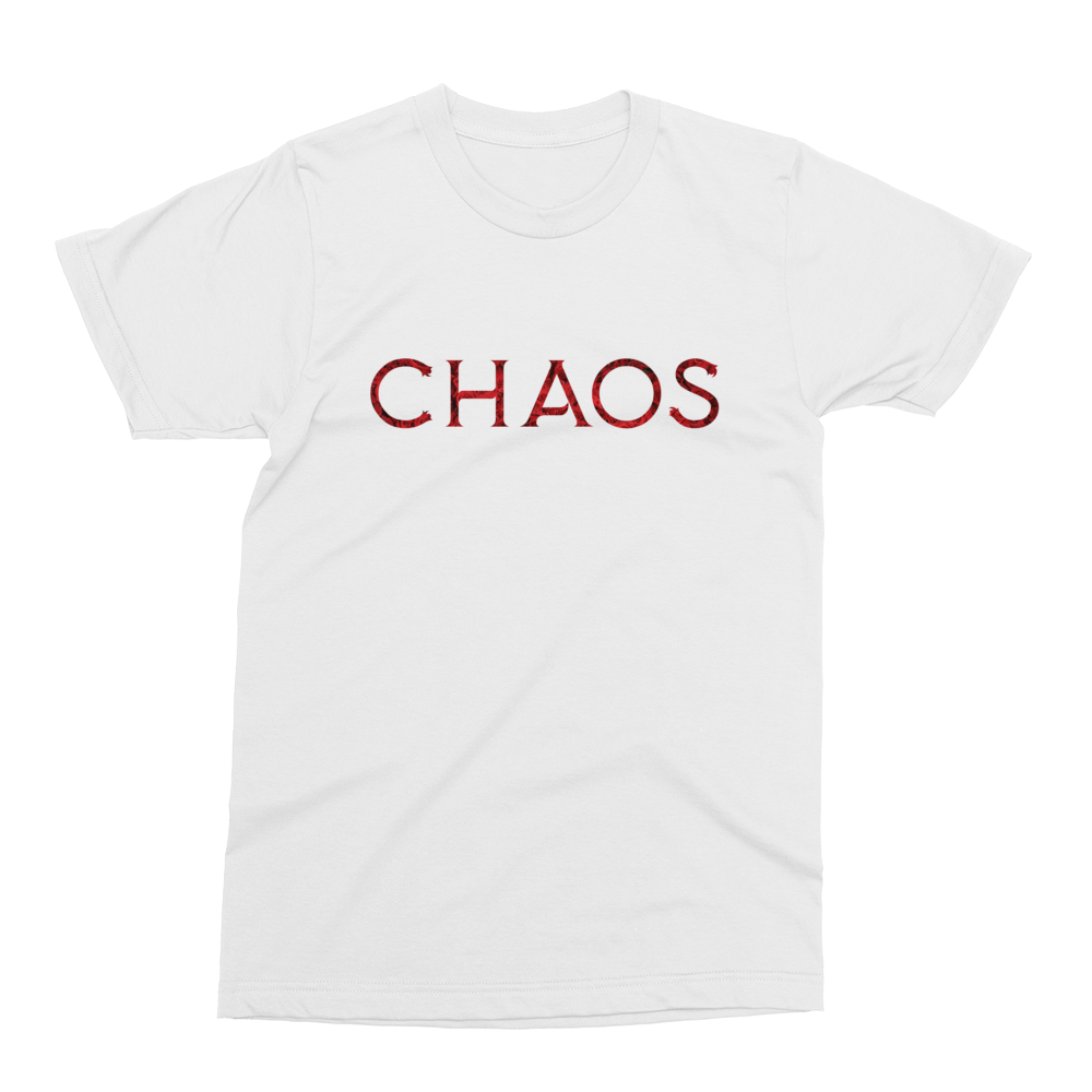 Image of Red Rose Chaos Logo Tee