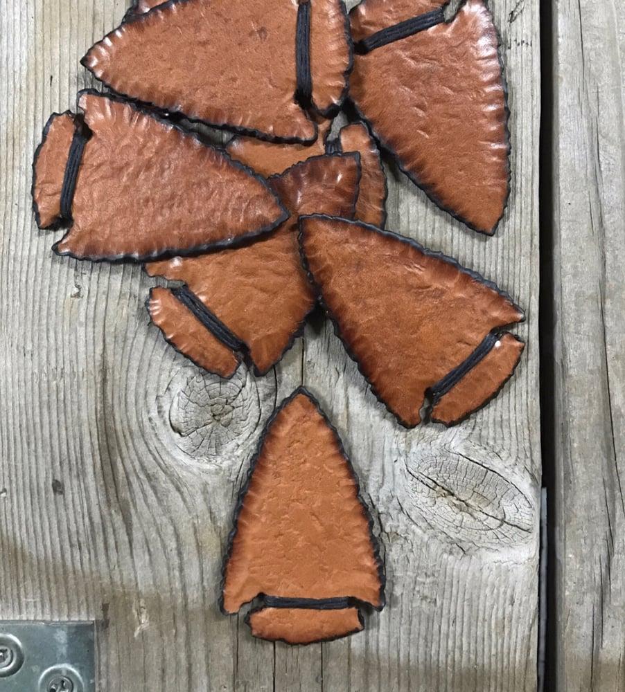 Image of Leather Arrowhead V.1