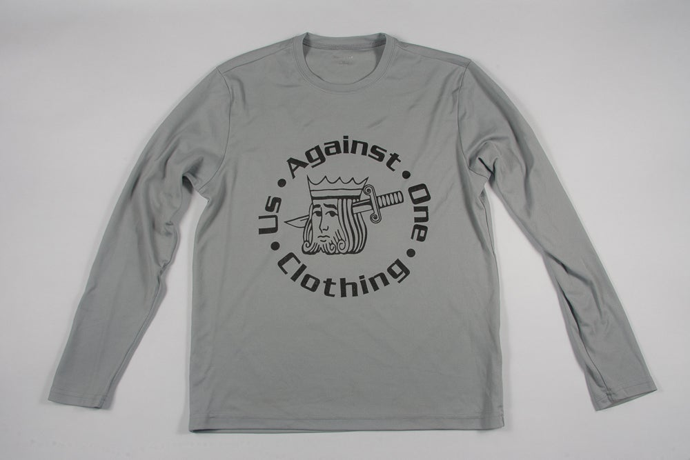 Image of Us Against One Clothing Suicide King Long Sleeve Base Layer Shirt
