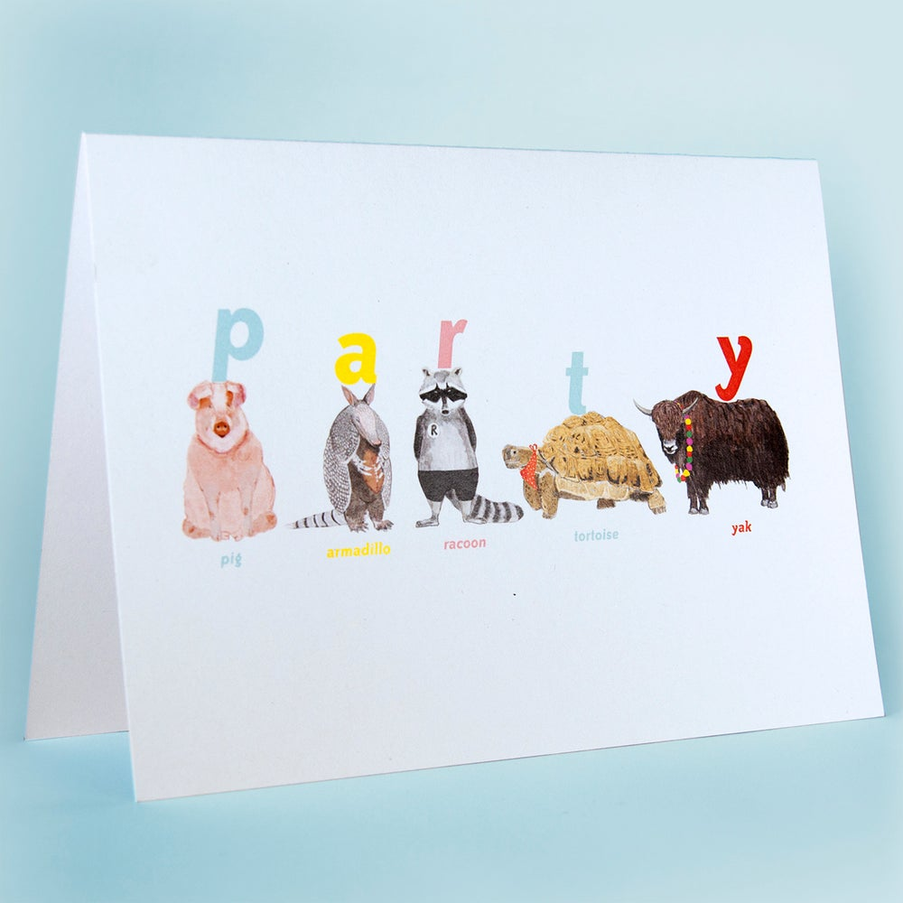 Image of Party Animal Card