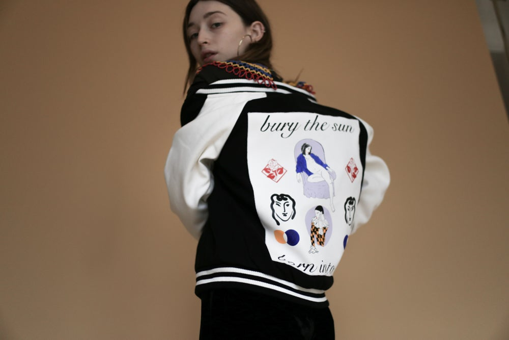 Image of Born Into Ash Varsity Jacket