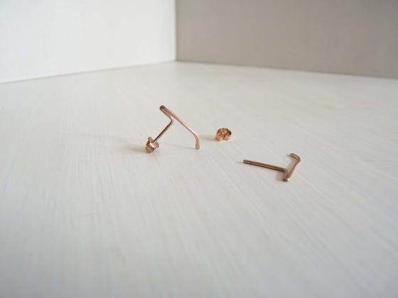 Image of Mini blade earrings