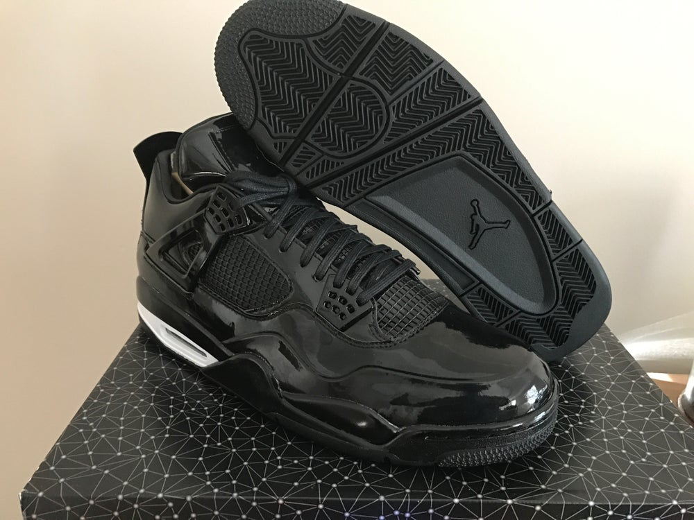 "new style f31a4 42d5a AIR JORDAN 11LAB4 ""BLACK PATENT"