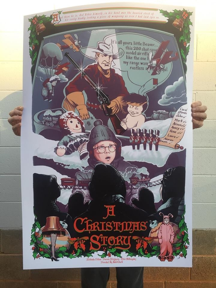 Image of A Christmas Story by Barret Chapman (Standard Edition)