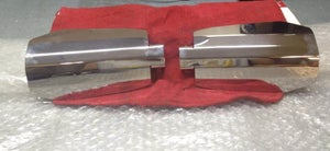 Image of Stainless Steel Polished Wind Guards