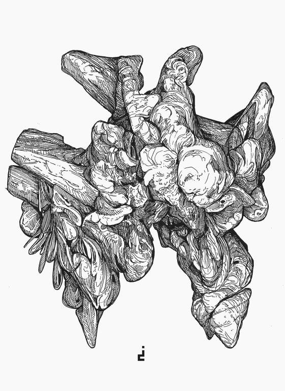 Image of Ink Drawing | deflect
