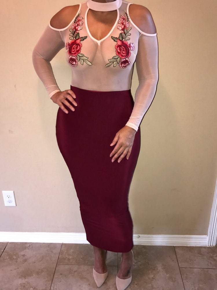 Image of Rose Body Suit