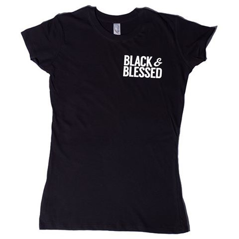 Image of Black and Blessed Women's T-Shirt