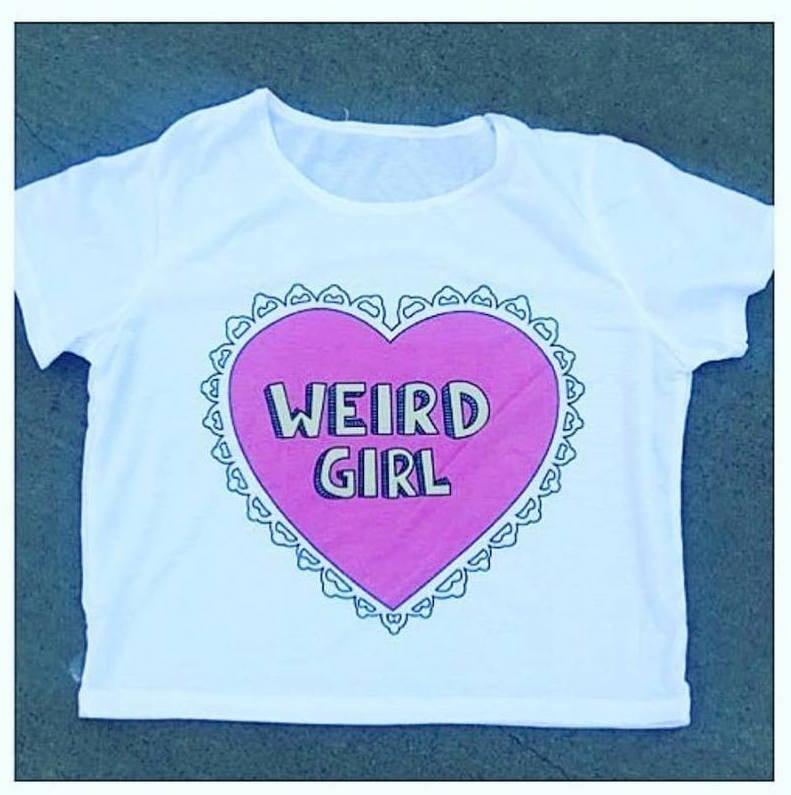 Image of Weird Girl Sweetheart
