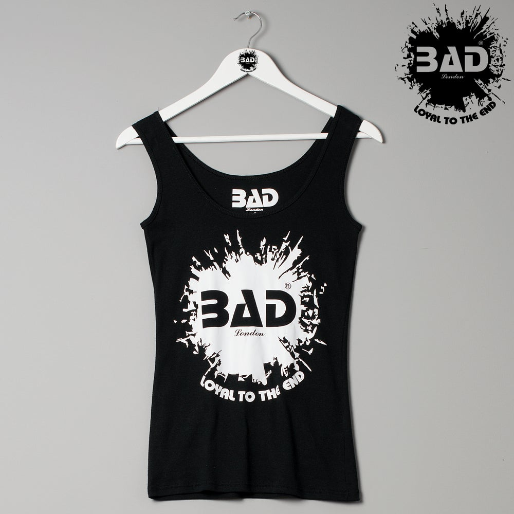 Image of BAD Athletics London Designer Couture muscle vest & Urban Street Wear Fitness Fashion