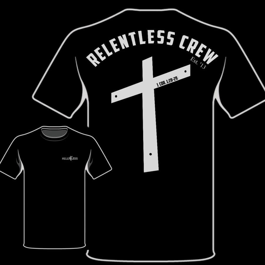 "Image of Relentless Crew ""Crucifix"" Pocket Tee"