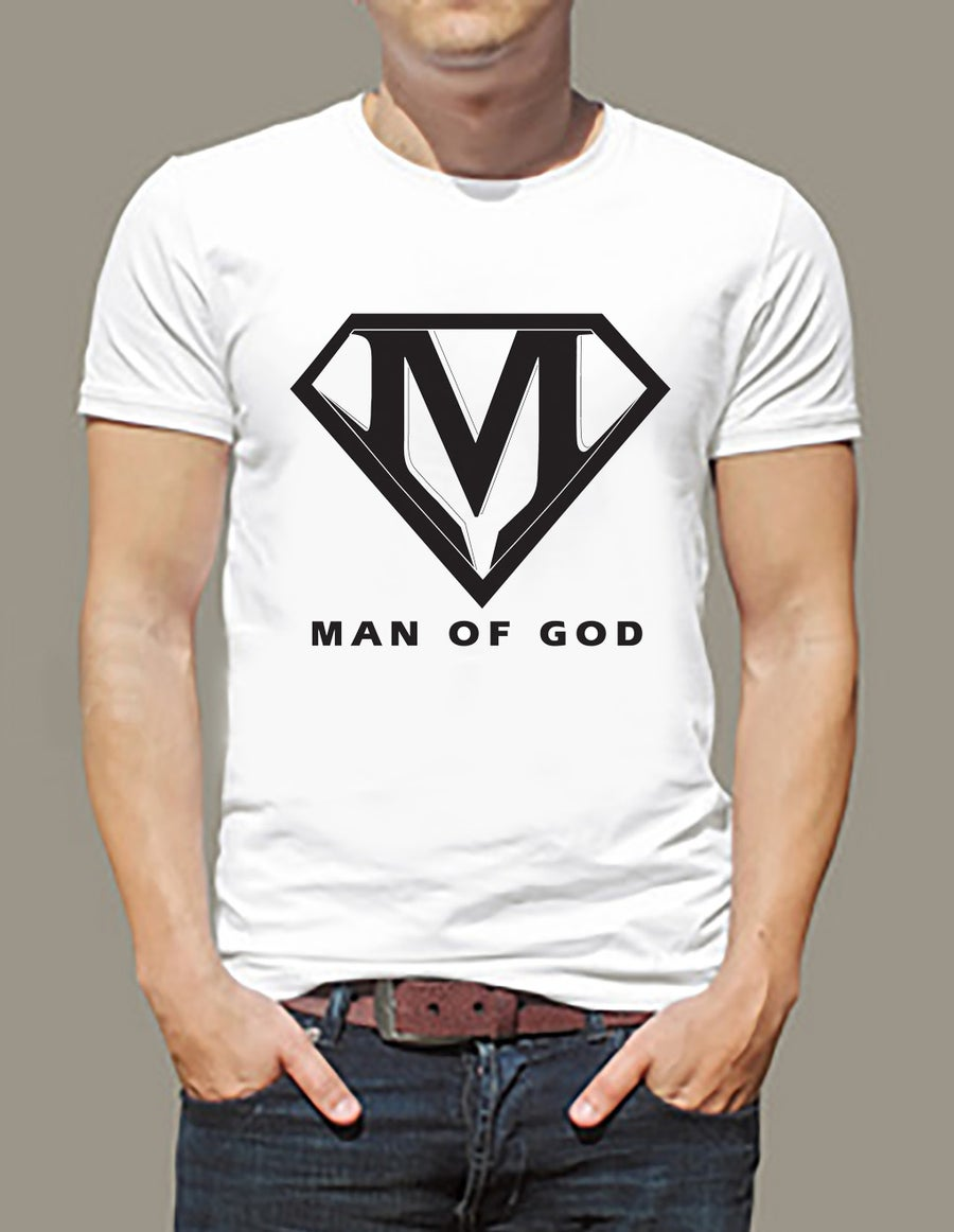 Image of MAN OF GOD (White)
