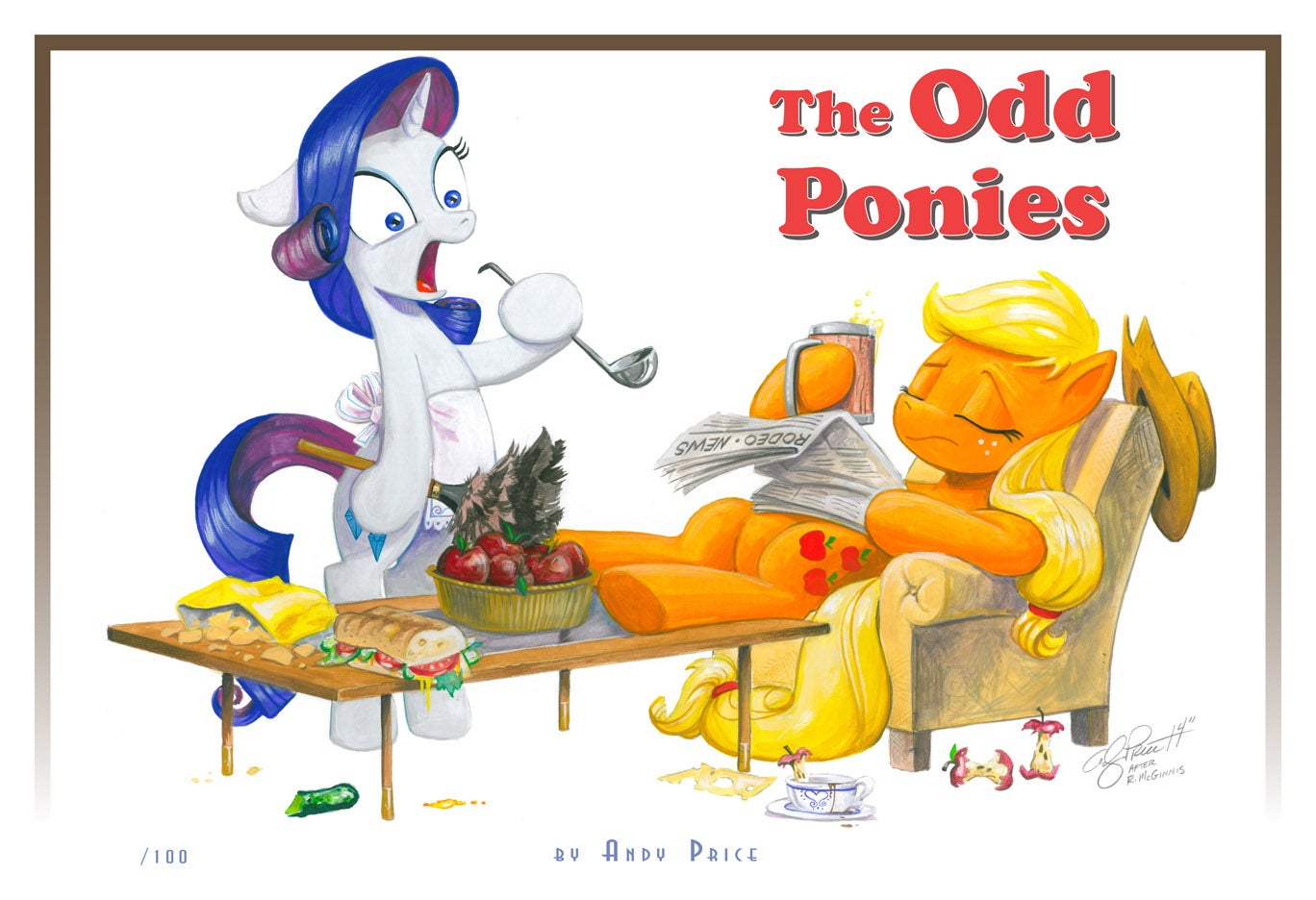 The Odd Ponies - Limited Edition Print