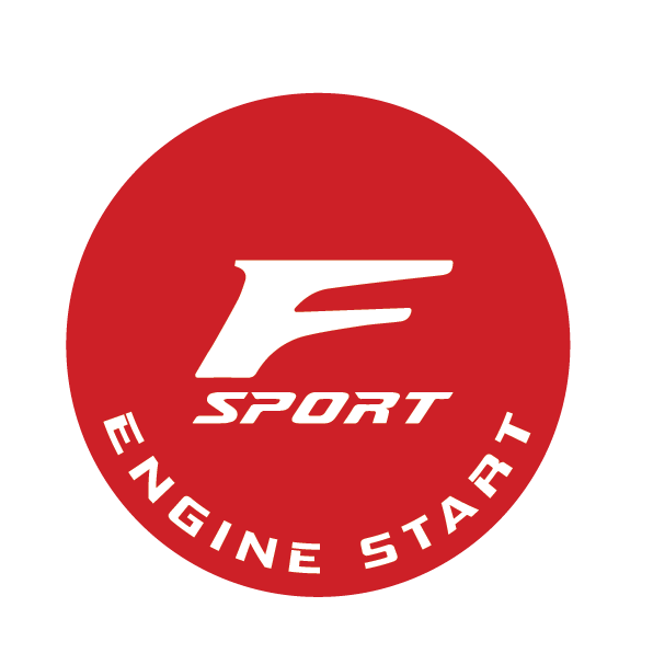 Image of Customized Start Button - F-Sport