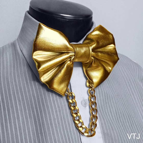Image of Monochromatic Gold Bowtie (Silver available)