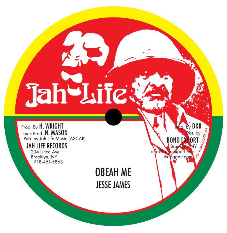 "Image of Jesse James - Obeah Me 10"" (Jah Life)"