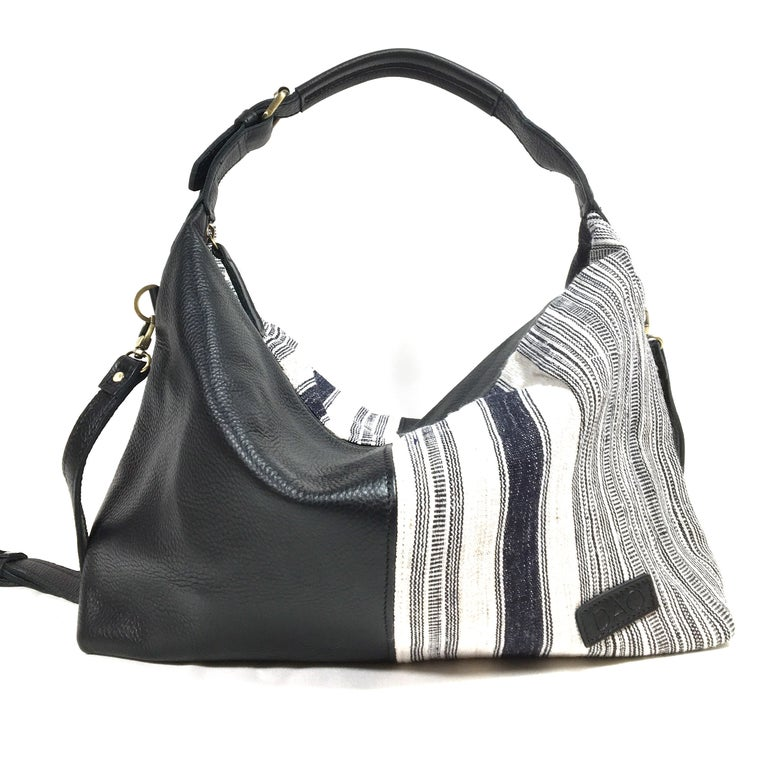 Image of Hemp Stripe Hobo