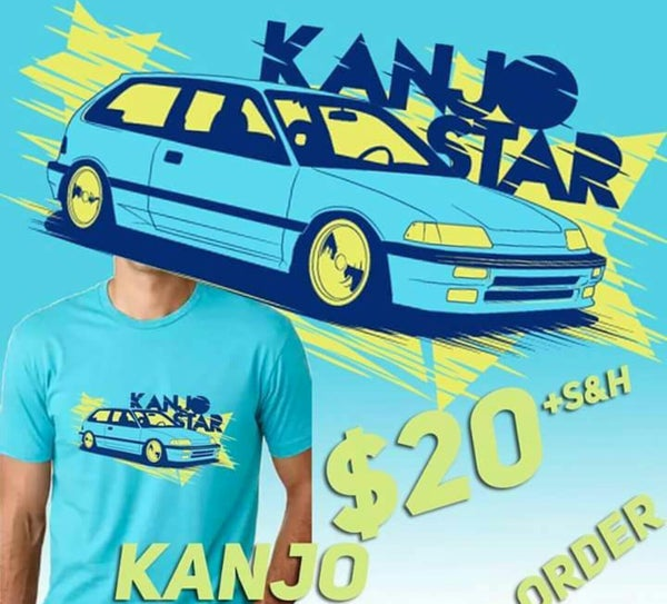 Image of Brand New Kanjo Star EF Hatch Shirt!