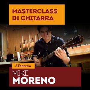 Image of MIKE MORENO Masterclass di chitarra