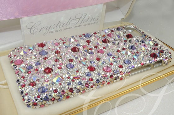 Image of 'Summer Berries' Fully Covered Case for iPhone & Samsung with Crystals by Swarovski®