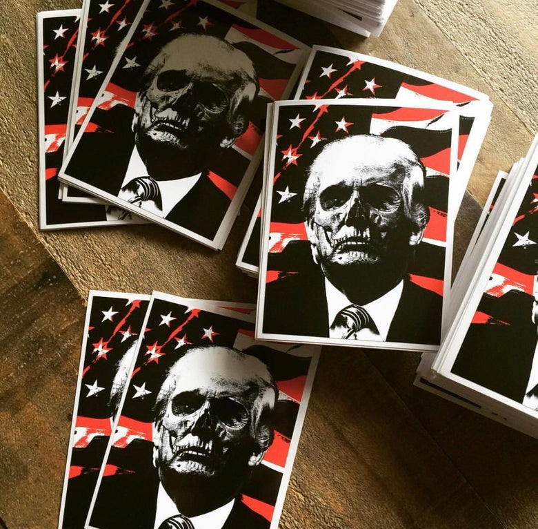 "Image of Trump ""BIG"" Sticker Pack"