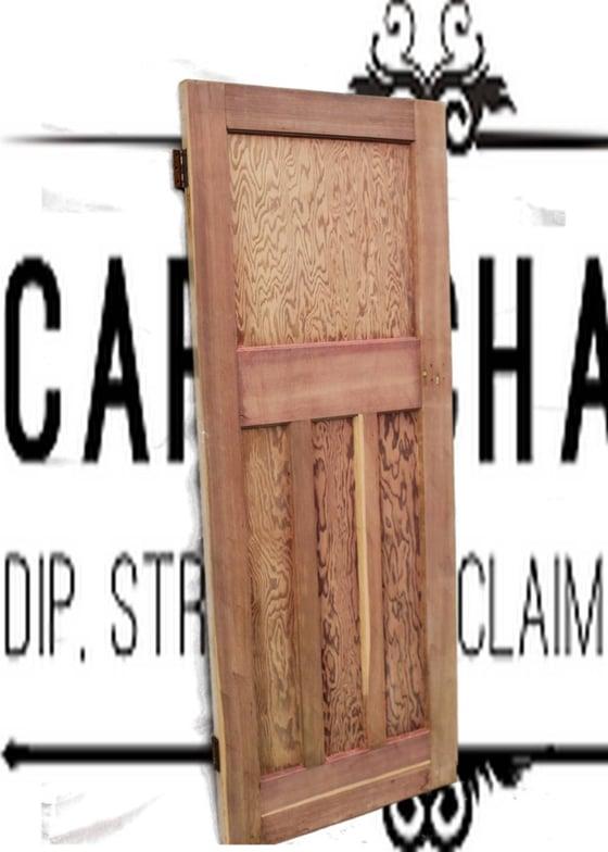Image of 1930s Internal Pitch Pine Doors