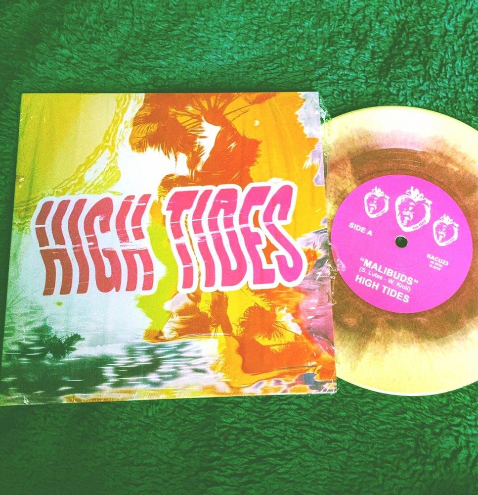 """Image of High Tides """"Malibuds/Silken Sands"""" 7"""" vinyl single"""