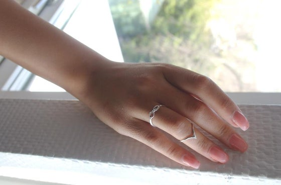 Image of Wishbone Midi Ring
