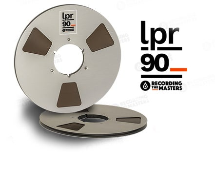 "Image of LPR90 1/4"" X3600' 10.5"" Metal Reel Hinged Box"