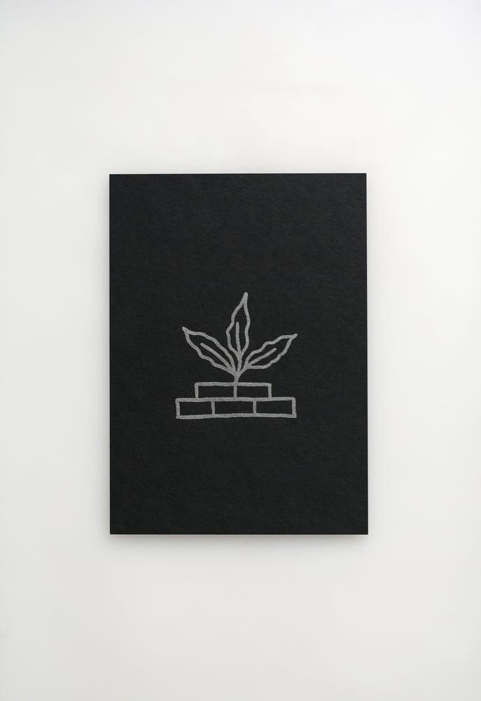 Image of Growing Plant Letterpress