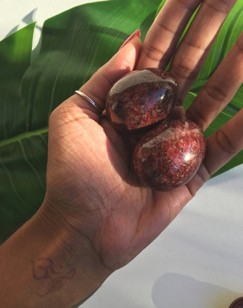 Image of Wine Jasper Yoni Eggs • Large