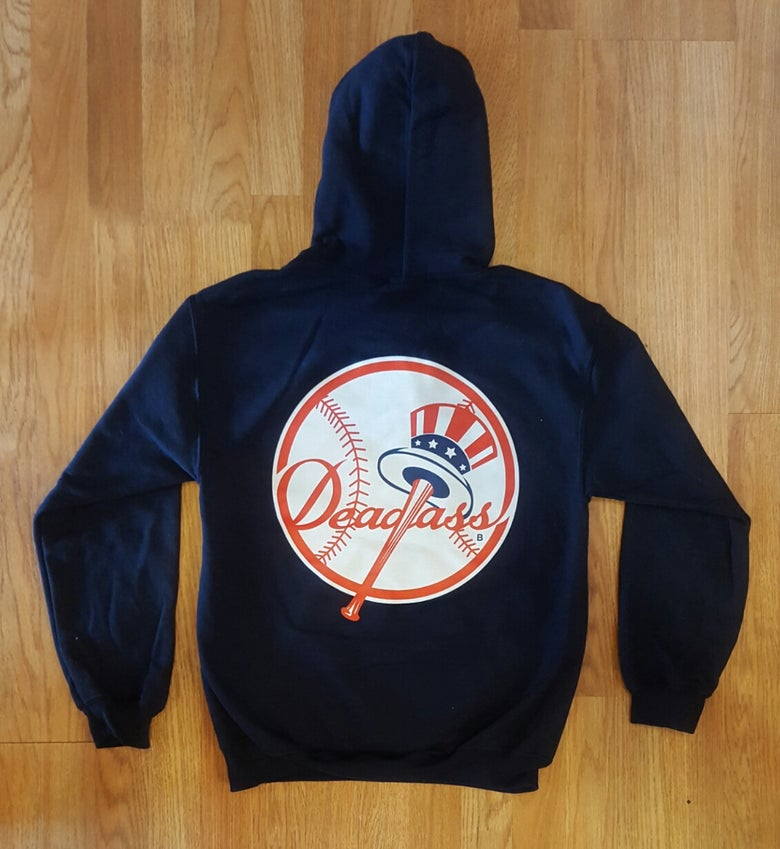 Image of Sideshow - Deadass Hoody (Navy)