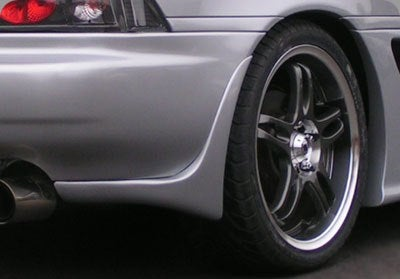 Image of 91-99 MR2 MK2 SW20 Phoenix Power Rear Add Ons/Valences