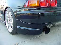 Image of 91-99 MR2 MK2 SW20 Border Rear Bumper Add On/Valence