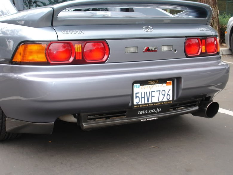 Image of 91-99 MR2 MK2 SW20 C1/C-One Rear Add On/Valence