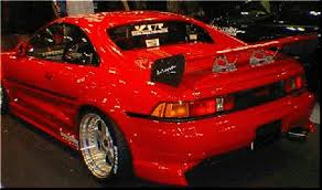 Image of 91-99 MR2 MK2 SW20 AB Flug YSR Drag Rear Bumper Add On/Valence
