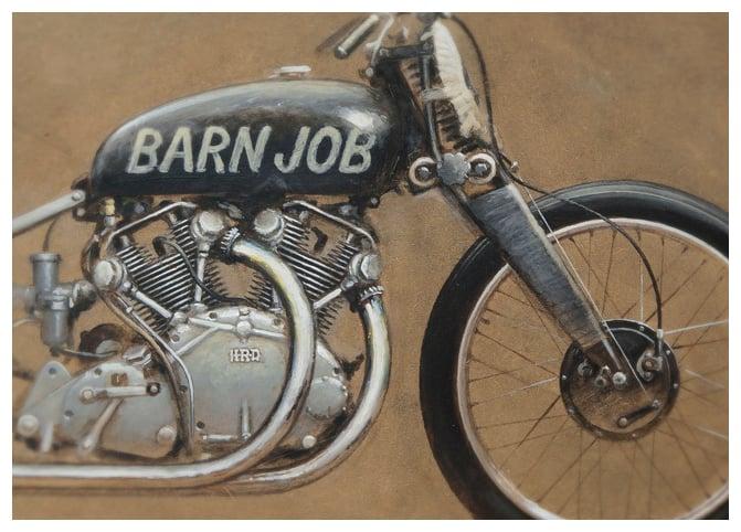 Image of 'The Beauty of Speed III (The Barn Job)'