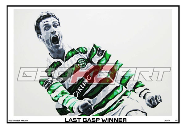 Image of CHRIS SUTTON - CELTIC V RANGERS