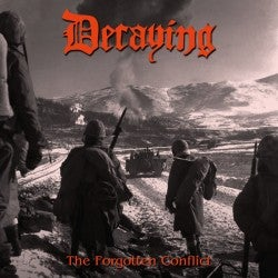 """Image of Decaying """" Forgotten Conflict Compilation """" CD"""