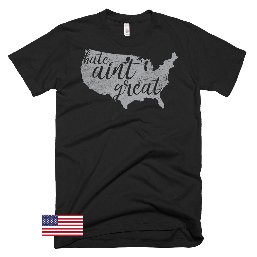 Image of Hate Ain't Great - Men's Short-Sleeve