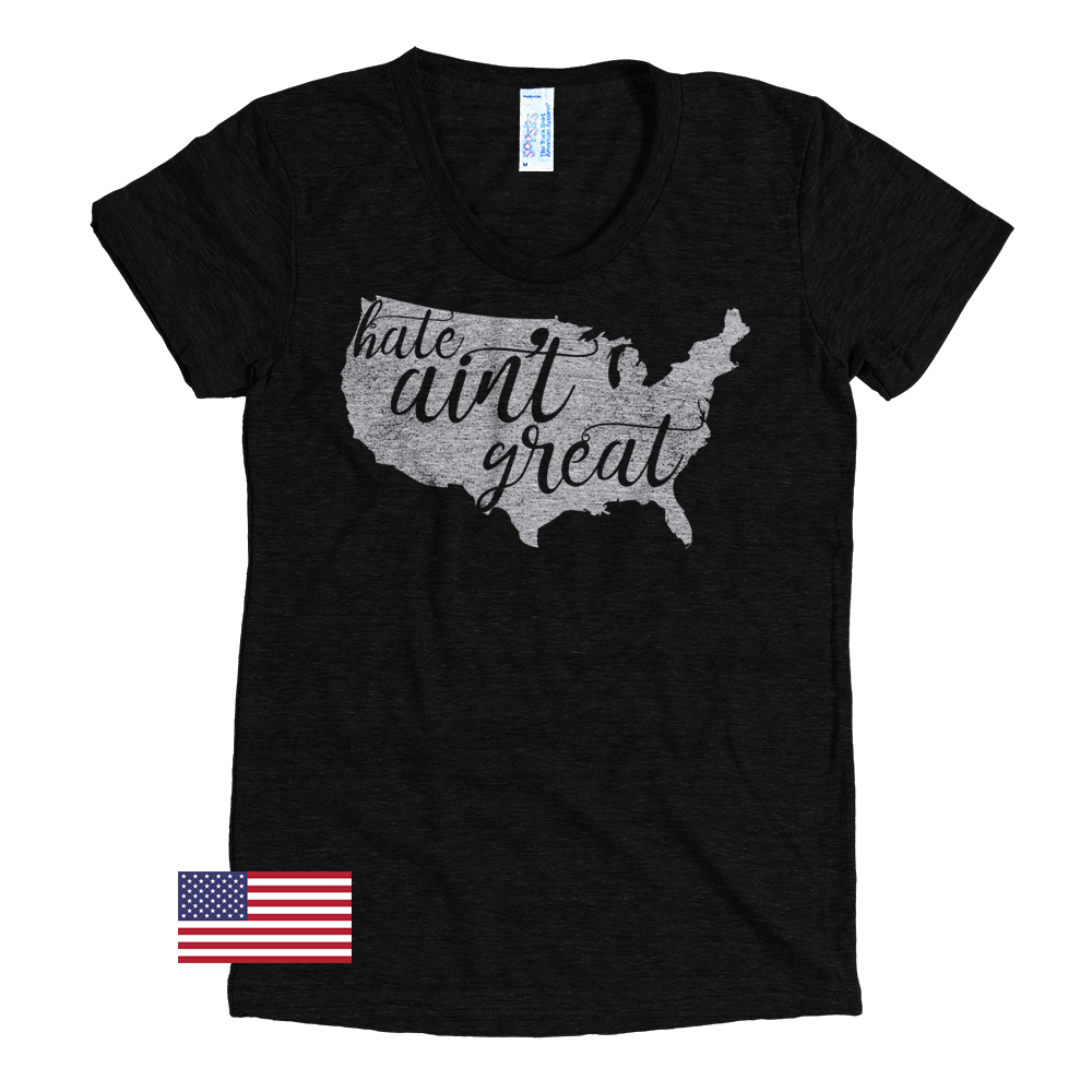 Image of Hate Ain't Great - Women's Short-Sleeve