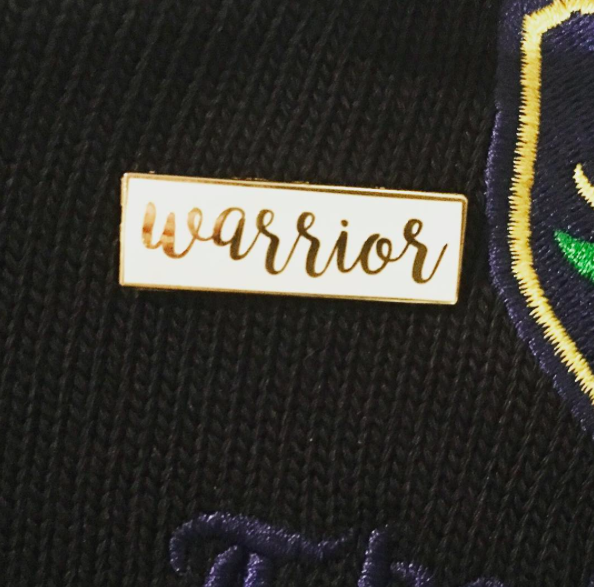Image of warrior pin