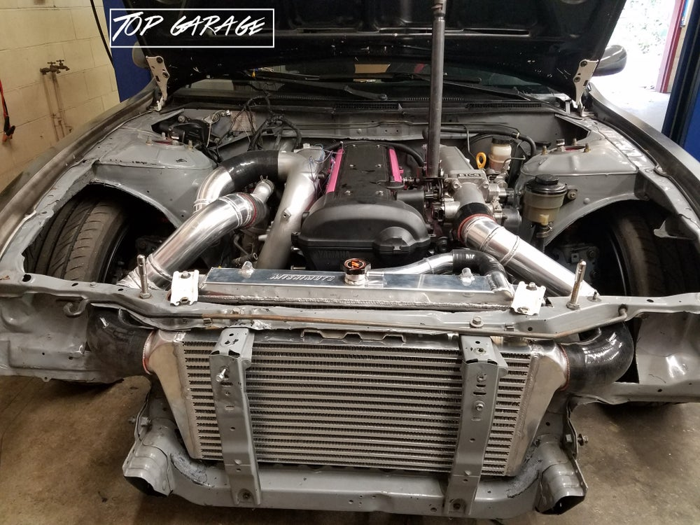 Image of Exhaust and Intercooler Fabrication