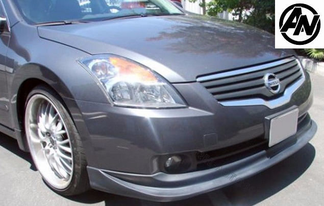 Image of (L32A) Type V Polyurethane Front Lip 07-09 Altima (All trim)