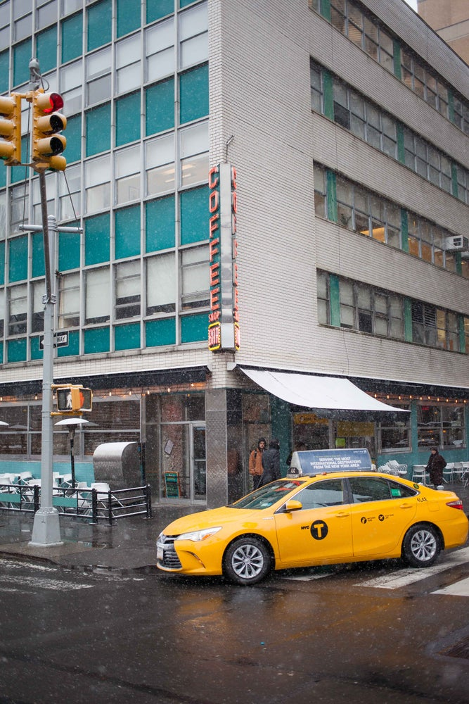Image of Cab in the Snow 5